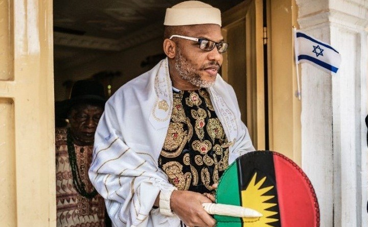 Nnamdi Kanu blasts Gumi over the comparison of IPOB with Boko Haram