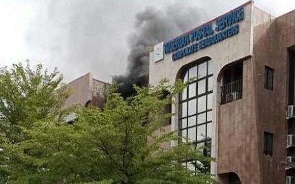 BREAKING: NIPOST headquarter on fire