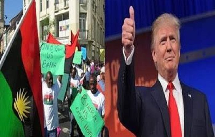 Biafrans in America gives full support to Donald Trump for re-election