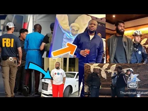 A Leaked Video Showing How Hushpuppi Was Arrested