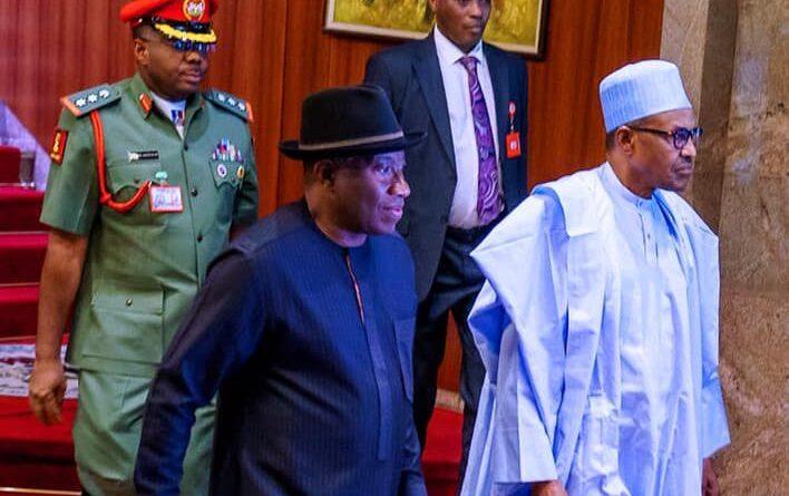 BREAKING: President Buhari names Agbor railway complex after Goodluck Jonathan