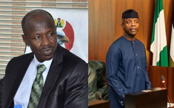 VP Osinbajo sets to face presidential panel as Magu allegedly claimed receives N4bn