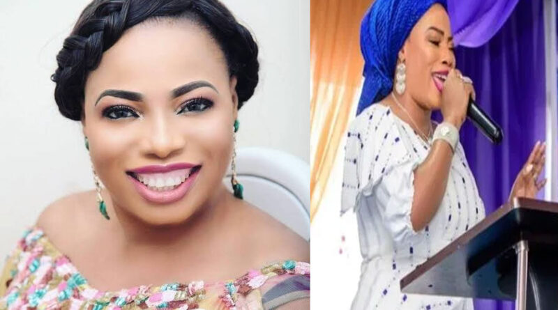 'Why my saliva is sold for £1000 to members- says, Prophetess Mary Olubori