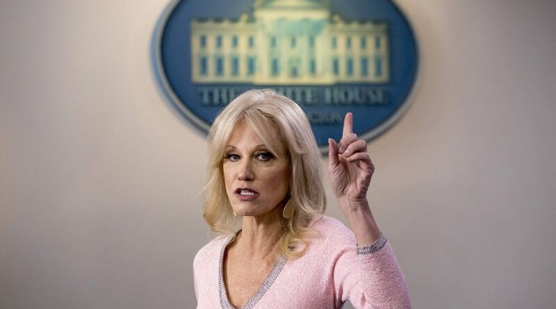 Kellyanne Conway leave the White House- Give reasons