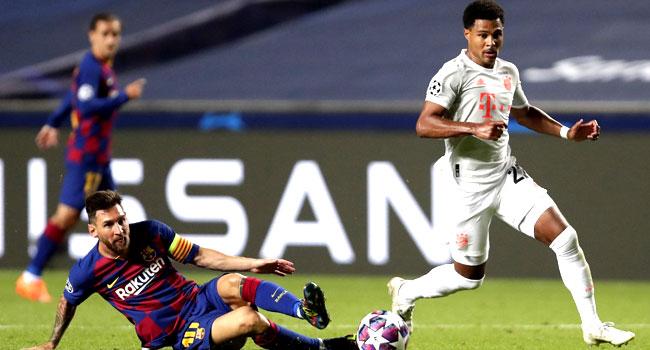 Bayern Hammer Barcelona 8-2