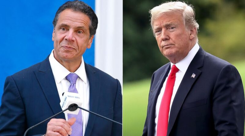 Democrats and the media covering up Andrew Cuomo's coronavirus failure- Trump