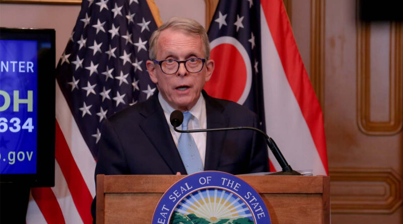 Ohio Governor, Mike DeWine tests positive for COVID-19