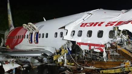 Air India flight crash-lands, skids off runway, kills at least 17 people