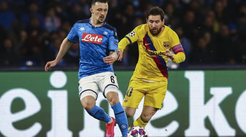 Barcelona vs Napoli, News, TV/Live Stream & Kick-Off Time
