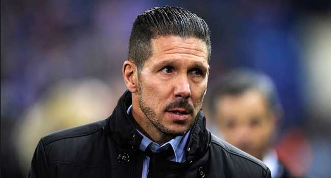 Diego Simeone, Atletico Madrid coach, tests positive for Covid-19