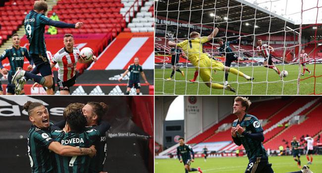 Bamford scored a dramatic late winner in Premier League