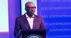 Edo Election Debate: Obaseki accuses Oshiohmole of excessive borrowing