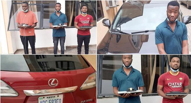 EFCC Arrests Abuja Internet Fraudsters