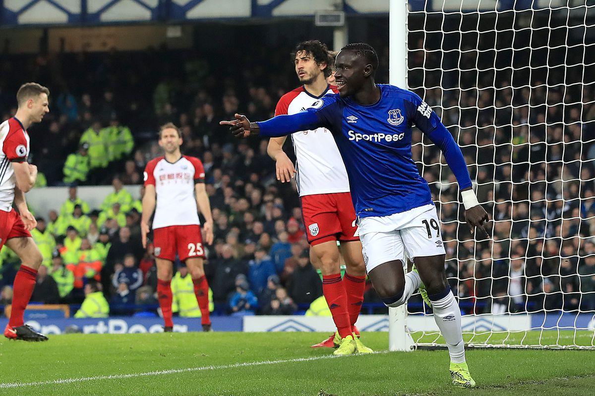 Everton vs West Brom- First Half Live Update