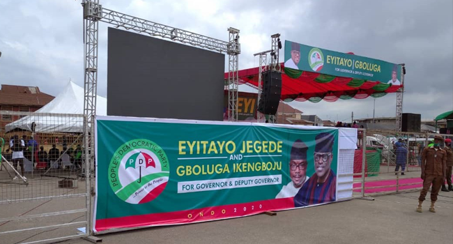 PDP Kick Off Governorship Campaign In Ondo, Vows To Win