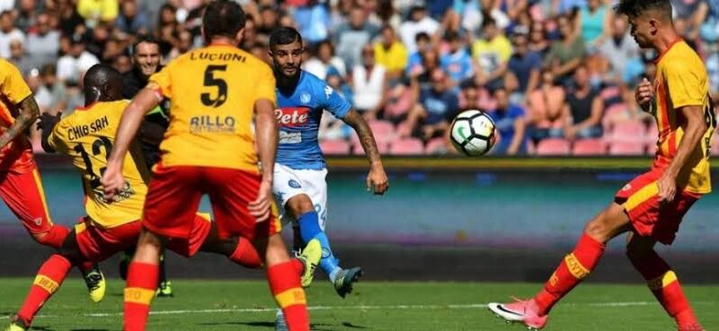 Benevento vs Napoli Live