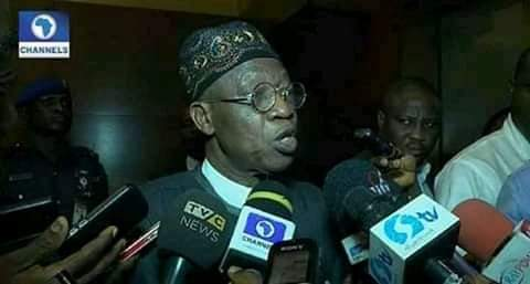 """Igbos used Nigerian Flag to do Caricature yesterday"" – Lai Mohammed"