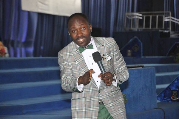"""Nothing must happen to Bishop Kukah, Apostle Suleman blows hot"
