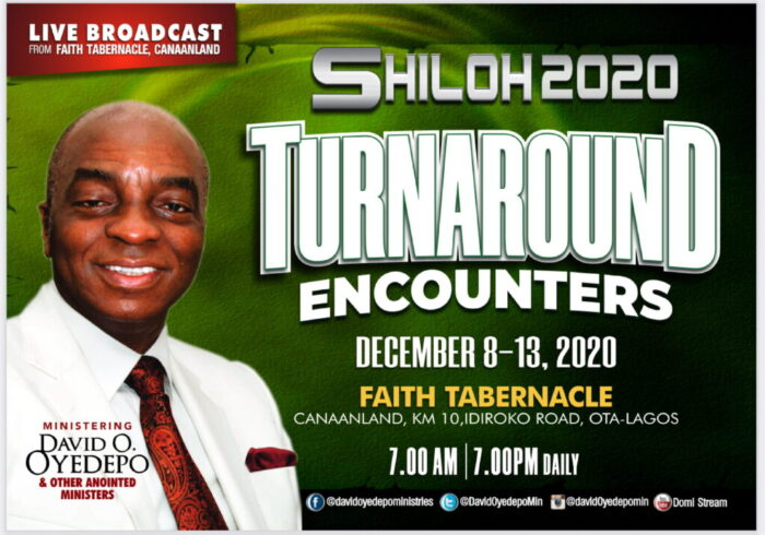 How to Watch Shiloh 2020 'Turnaround Encounters' Live Stream Today