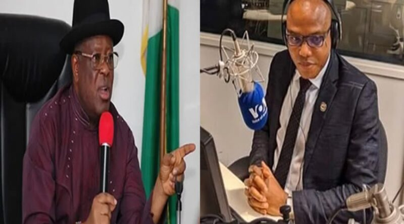 (Video)We will chase Umahi out of Abakaliki if Fulani herdsmen attack or rape our women again – Nnamdi Kanu