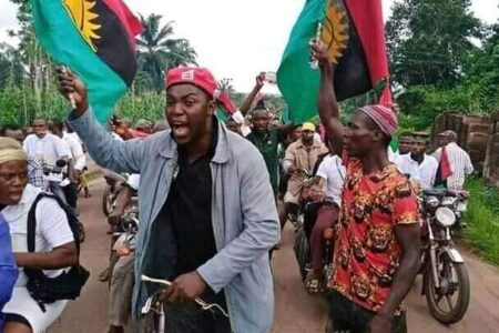 IPOB group mocks northern union over the reverse of food ban to South region