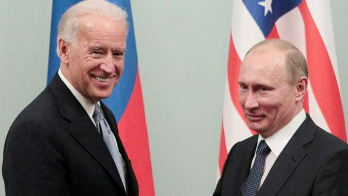 Russian President, Putin finally congratulates Joe Biden on US election victory