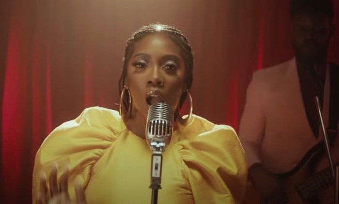 """Tiwa Savage released a new video """"Park Well"""" featuring Davido(Video)"""