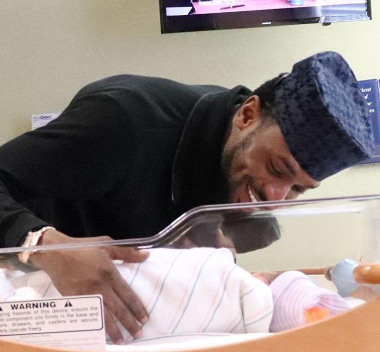 D'banj, wife welcomes baby girl