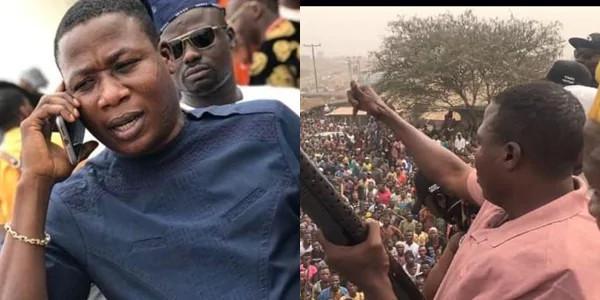 'Unfreeze my account now or else- Sunday Igboho blows hot