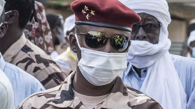 BREAKING: Idriss Deby's son sworn-in as Chad President