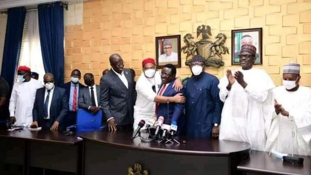 BREAKING: Governor Ayade joins the ruling party, APC
