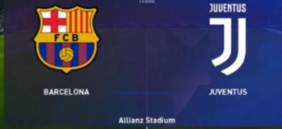 Watch Barcelona vs Juventus Live Streaming Match